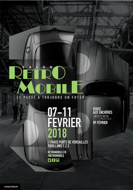Salon Retromobile 2018